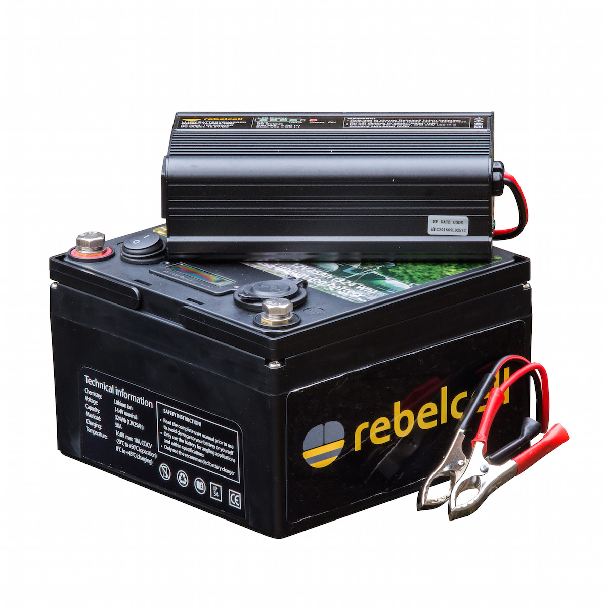 Rebelcell Ultimate 12V25 Inkl. Lader