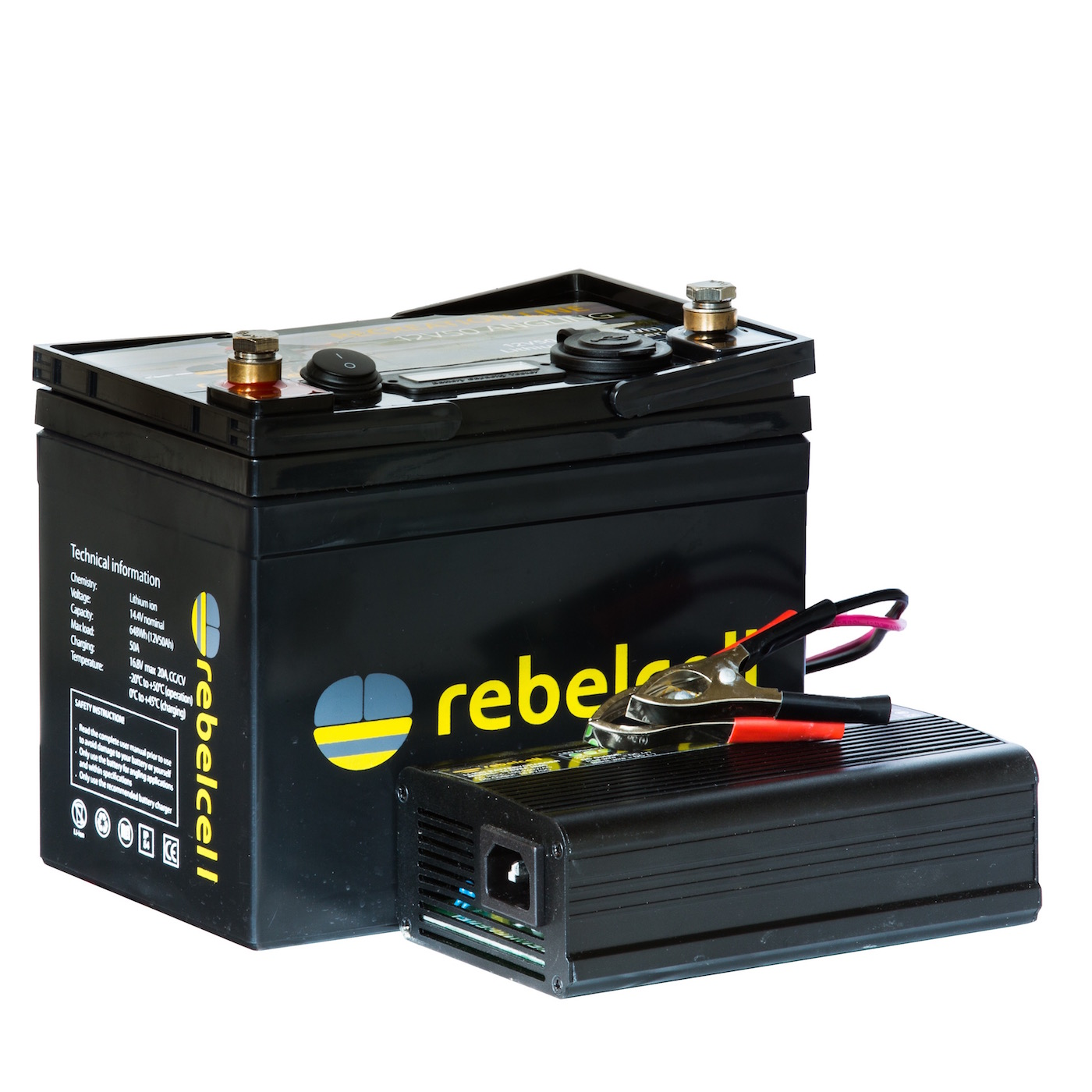 Rebelcell Ultimate 12V50 Inkl. Lader