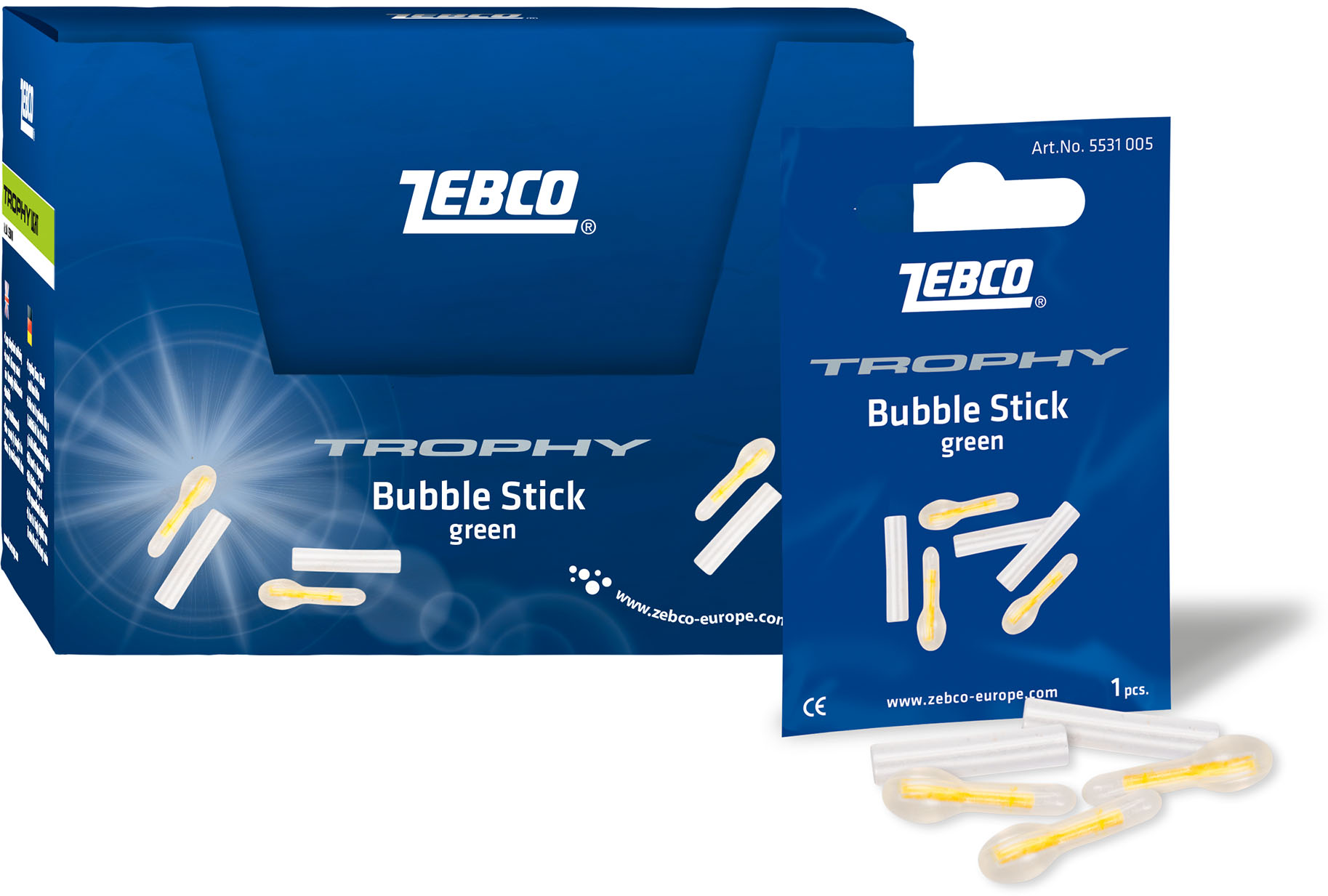 Zebco Trophy Bubble Stick Knæklys 4,5mm