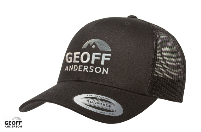 Image of   Geoff Anderson Retro Trucker Cap Sort