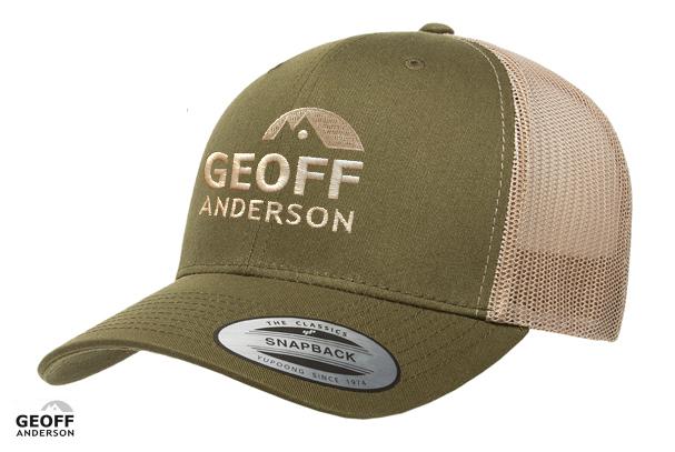 Image of   Geoff Anderson Retro Trucker 2-Tone Grøn
