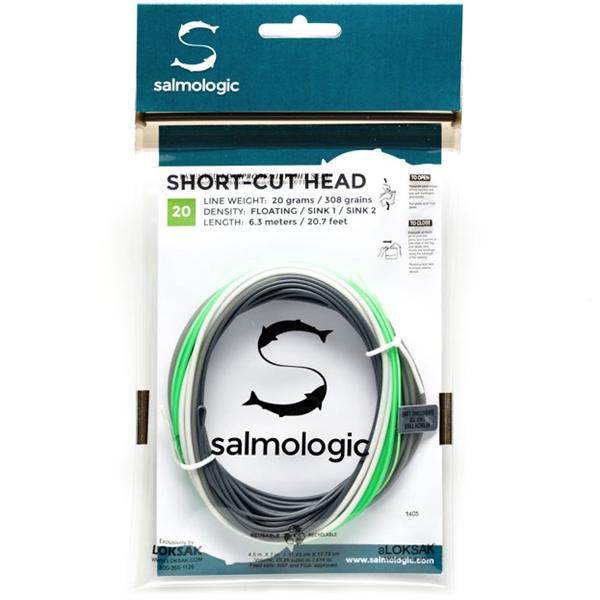 Salmologic short-cut skydehoved fra N/A fra fiskegrej.dk
