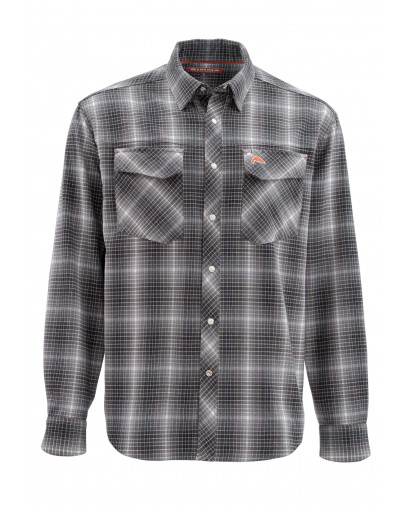 Image of   Simms Gallatin Flanel Skjorte Raven Plaid