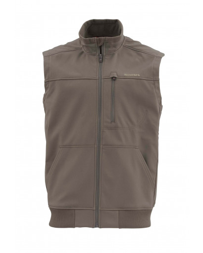 Image of   Simms Rouge Fleece Vest Hickory
