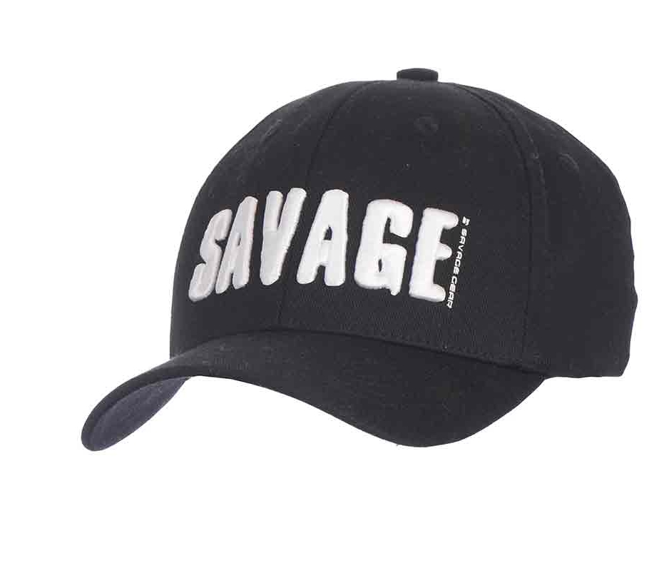 Image of   Savage Gear Simply Savage 3D Logo Cap