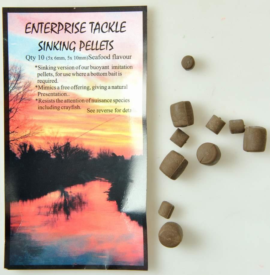 Enterprise sinking pellet fra N/A på fiskegrej.dk