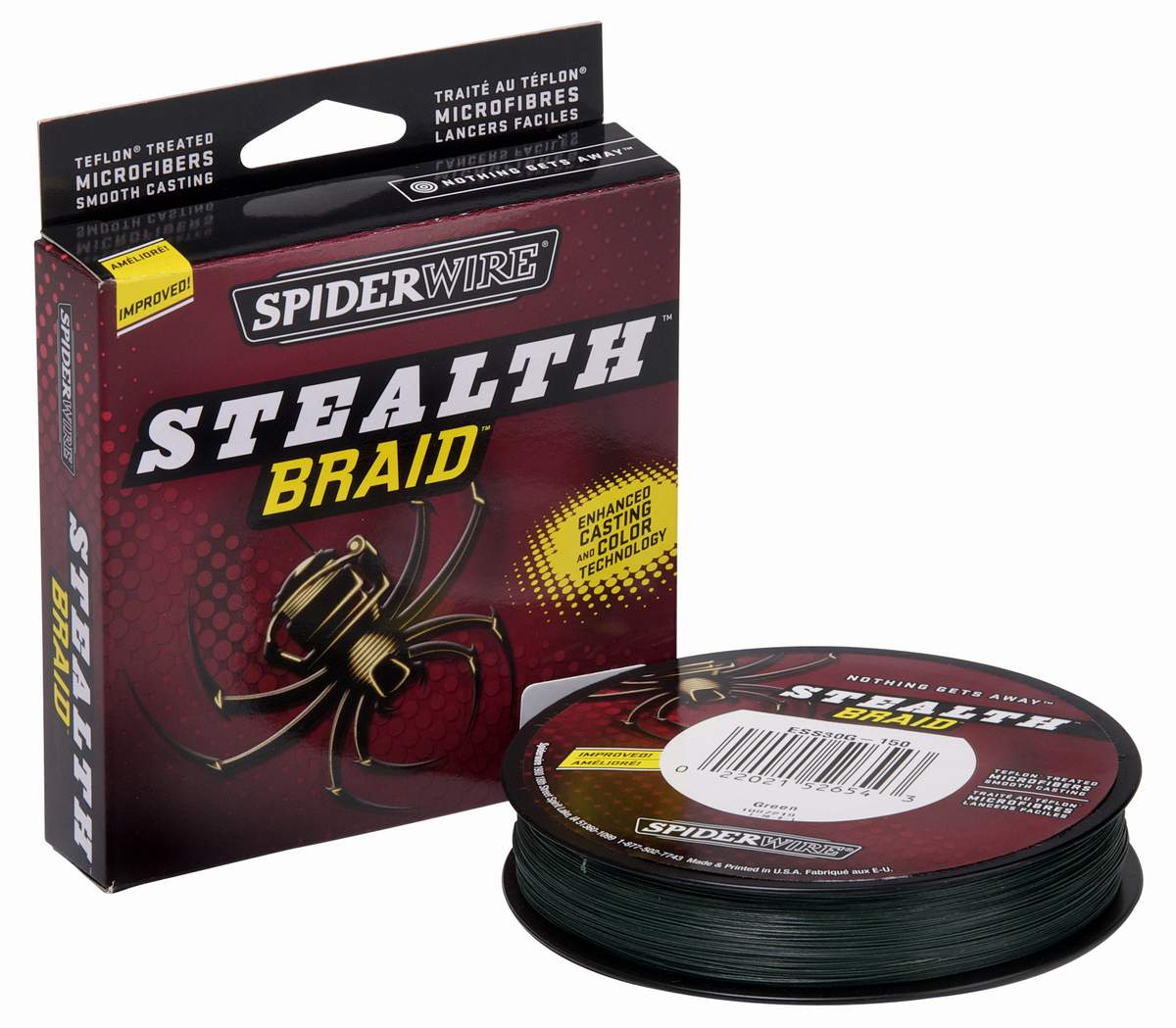 Spiderwire stealth braid fra N/A på fiskegrej.dk