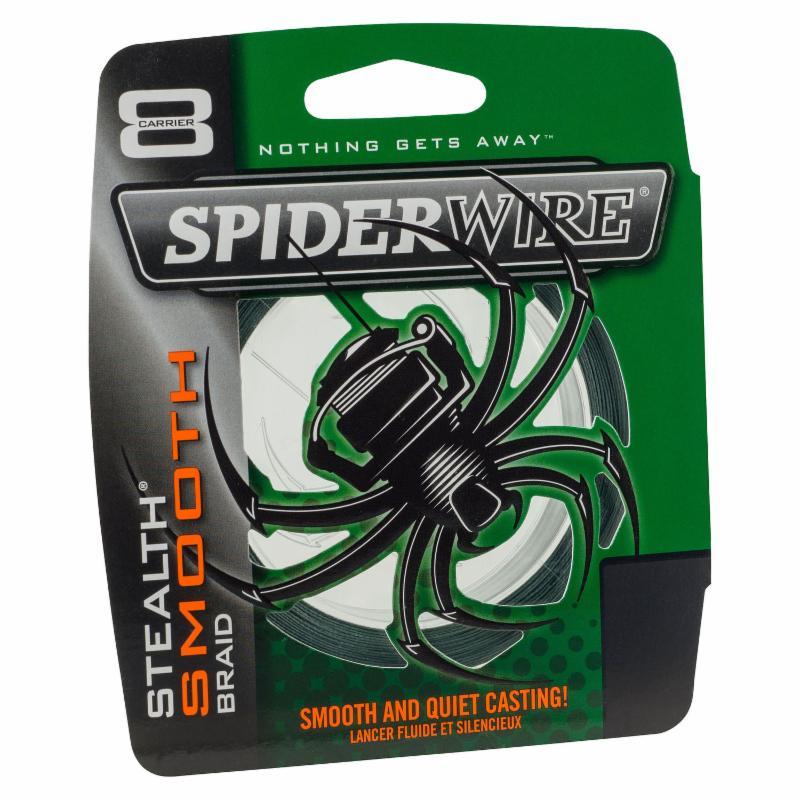 Spiderwire stealth smooth 8 grøn fra N/A på fiskegrej.dk