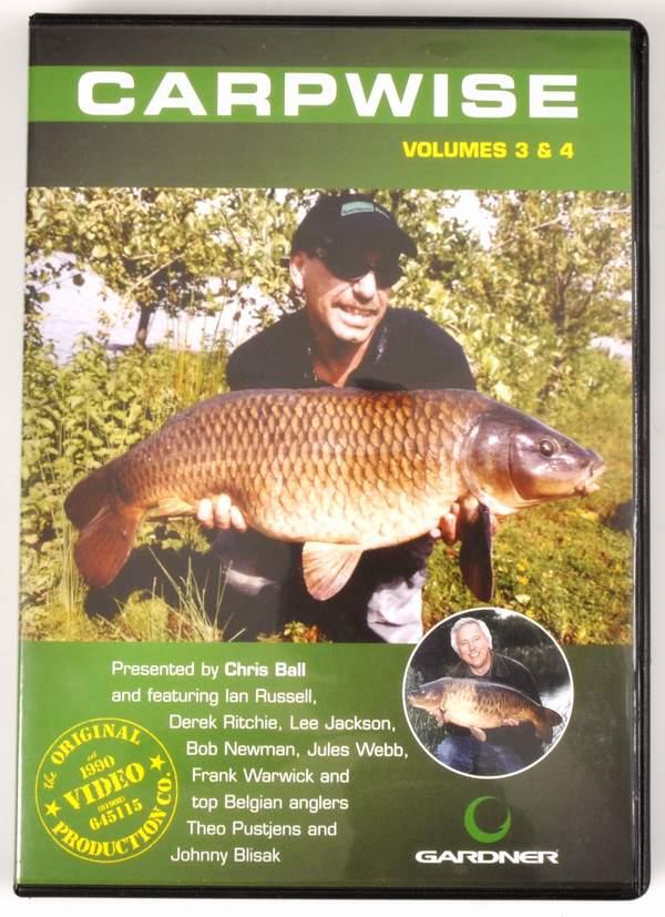 N/A Gardner carpwise dvd 3+4 på fiskegrej.dk
