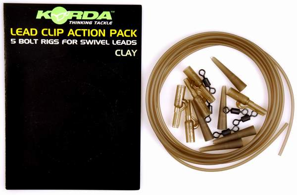 Image of   Korda Lead Clip Action Pack