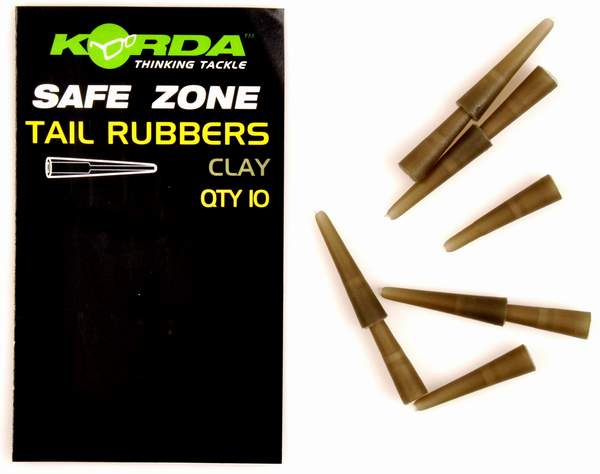 Korda Safe Zone Tail Rubbers