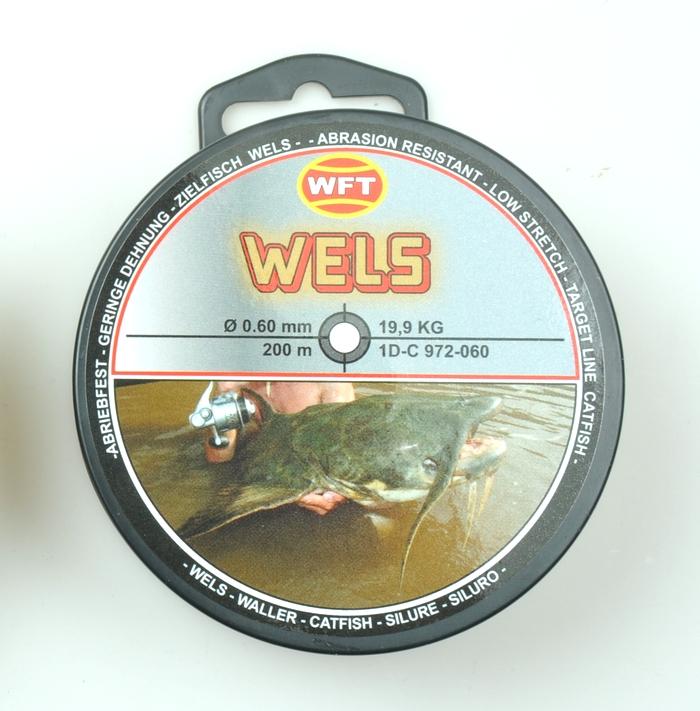 N/A Wft wels line på fiskegrej.dk