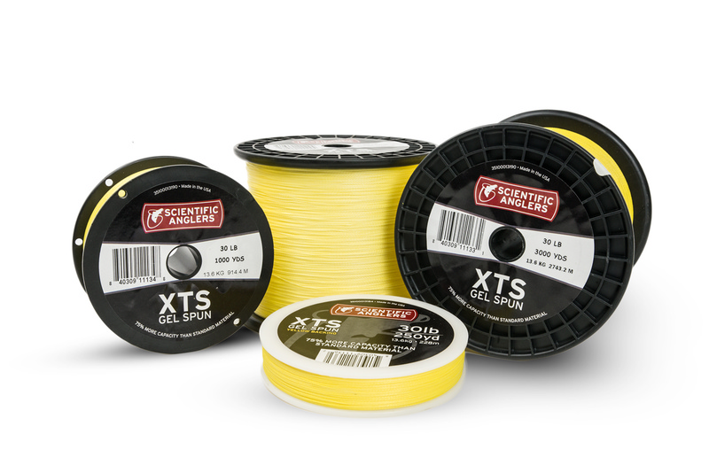 Scientific Anglers XTS Gel Spun Backing Påspoling