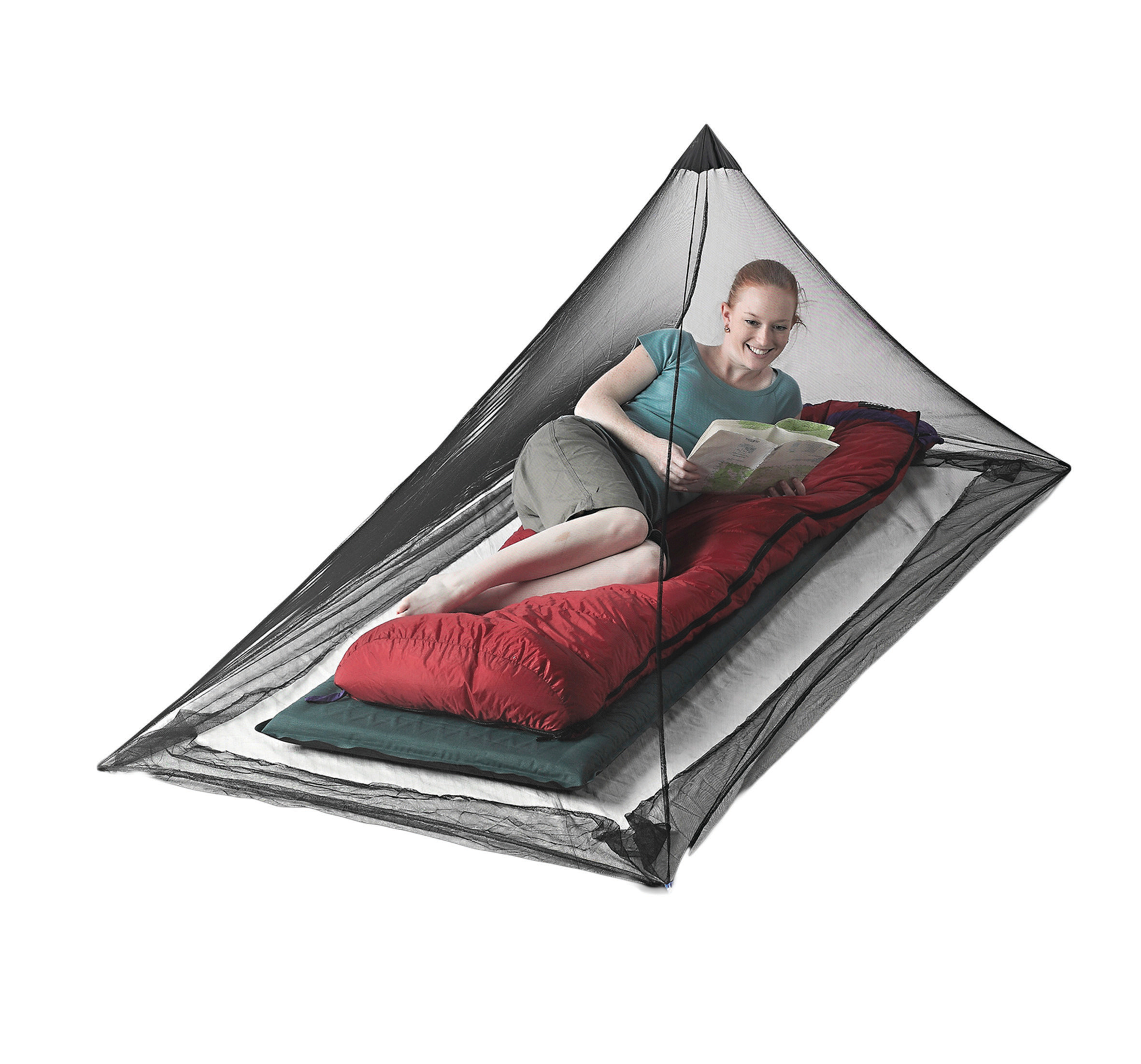 Seatosummit Nano Mosquito Pyramid Net Single
